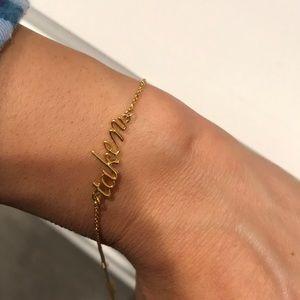 """kate spade Jewelry - """"Taken"""" Kate Spade bracelet"""